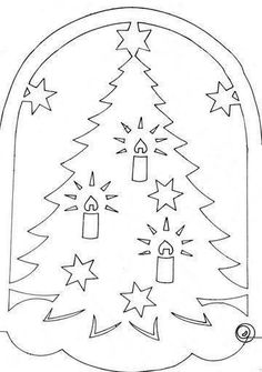 Christmas stencils to cut out of paper on the windows: 24 thousand images found in Yandeks. Kirigami, Paper Cutting, Christmas Holidays, Christmas Crafts, Christmas Stencils, Xmas Cross Stitch, Christmas Embroidery, Quilt Stitching, Xmas Ornaments