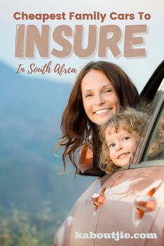 Cars are expensive to buy and maintain, and knowing the cheapest family cars to insure can help you decide which car is best to buy in South Africa #CarInsurance #Financial Family Cars, Get Out Of Debt, Financial Tips, Car Insurance, Blog Tips, South Africa, Saving Money, Connect, Success