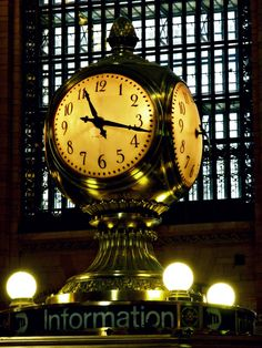 Grand Central Terminal, 1903; the famous 4-sided clock has OPAL faces and is valued at $40-80 million dollars.
