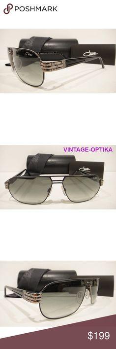 baed07a9e0a CAZAL 9044 SUNGLASSES BLACK SILVER (001) AUTHENTIC These are 100% Genuine