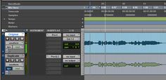 1. Duplicate the track and insert a compressor with external side-chain abilities on the original, and an EQ on the duplicate track. Make sure no audio is going to the main outputs from the duplicate track (in Pro Tools done from the I/O menu).