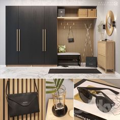 Hallway - Lilly is Love Wardrobe Door Designs, Wardrobe Design Bedroom, Wardrobe Furniture, Home Decor Furniture, Modern Hallway Furniture, Entrance Hall Decor, Entryway Decor, Armoire Entree, Hallway Cabinet