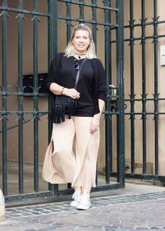 Culotte Outfit, Sneakerlook, Streetstyle