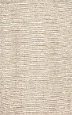 NomeSG01 Hand Woven Cotton Casual Solid Rug This would be a nice basic rug to stencil on for eat in kitchen
