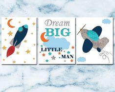 Art Sets For Kids, Art Kids, Art Wall Kids, Wall Art Sets, Nursery Sets, Baby Boy Nursery Decor, Baby Boy Nurseries, Nursery Canvas, Nursery Prints