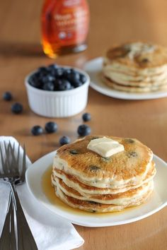 Vegan Blueberry Pancakes | Community Post: 19 Mind-Blowing Pancakes Guaranteed To Change Breakfast Forever