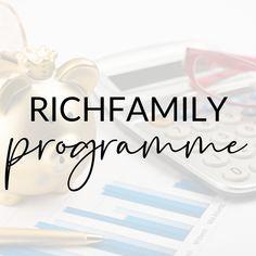 Richfamily Programme Program Management, Wealth, Finance, Education, Life