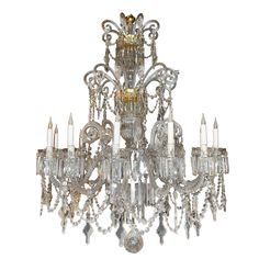 Large 19th Century Italian Chandelier