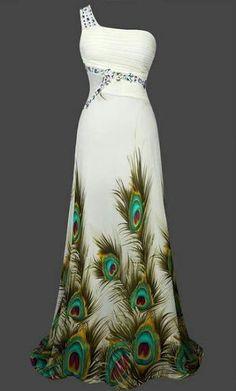 Gatsby Inspired Mermaid Sheer Vintage Look 1920 Art Deco Peacock Cocktail Dress  $74.99…