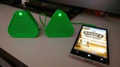 #ColoudBang od #Nokia  #Rozrywkowy i przenośny, kolorowy #głośnik o najwyższej jakości dźwięku!