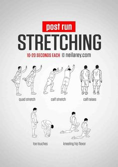 A gym freak, are you? But are you a fan of post-workout stretches? But believe me when I say it will do you a lot good if you are doing them after every workout session… Post Workout Stretches, Calf Stretches, Stretching Exercises, Running Workouts, Running Tips, At Home Workouts, Stretches For Runners, Quad Stretch, Flexibility Workout