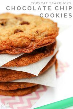 Copycat Starbucks Chocolate Chip Cookies