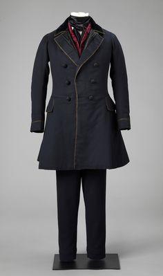 Suit 1840s Nasjonalmuseet for Kunst, Arketektur, og Design