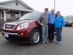 Big Thanks to Bob and Dori Wenke from Donnellson for the purchase of their 2007 GMC Acadia! Thanks again!