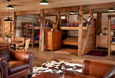 Bunkhouse Ideas On Pinterest Bunkhouse Bunk Rooms And
