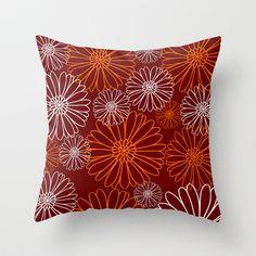 Hokie Florals Throw Pillow by Jordan Virden - $20.00 Virginia Tech Hokies, Tailgating, Apartment Ideas, Future House, Fun Stuff, Florals, Pride, Iphone Cases, College