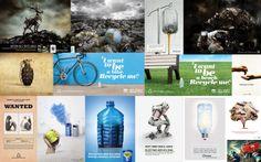Anuncios de reciclaje / Recycling advertisements