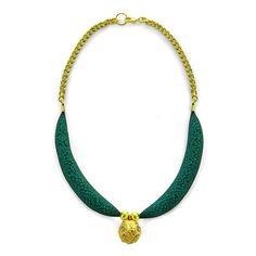 Net necklaceBluegreenRound pendantMetal by tamiperetz on Etsy, $79.00