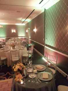 April 20th 2013 wedding reception uplighting  www.iWantAmbiance.com