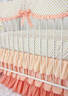 Polka Dot Perfection For The Nursery!