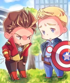 Tony and Steve - Avengers Academy