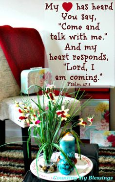 When You Want Perfect Peace – Come and Talk | Counting My Blessings