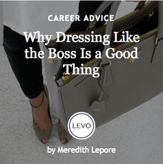 #Ask4More | Work-Life Balance + Life-Integration: Why Dressing like the boss is a good thing