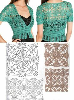 boleros-crochet (18)                                                                                                                                                      Plus