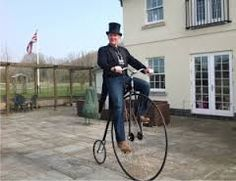Neil Laughton on a Penny Farthing Penny Farthing, Funny Pictures, Bicycle, Club, Image, Fanny Pics, Bicycle Kick, Funny Pics, Bike
