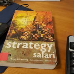 #opinnot #studies #kirjallisuutta #strategy #globalization #strategysafari