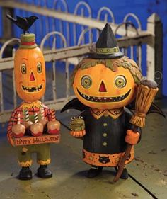 Party Pumpkinheads from TheHolidayBarn.com