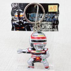 Jikuu Senshi Spielban Toei Metal Hero Mascot Figure Key Chain JAPAN TOKUSATSU