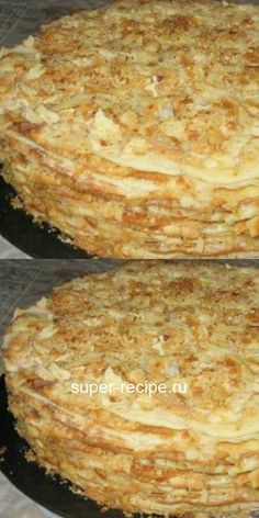 """I stumbled upon this miracle recipe by chance and now I cook """"Napoleon"""" only in a pan. Baking Recipes, Cake Recipes, French Dessert Recipes, Easy Cake Decorating, Russian Recipes, Sweet Cakes, Homemade Cakes, Food To Make, Food Porn"""
