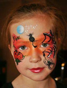 Afbeeldingsresultaat voor kindergrime pompoen
