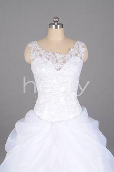 Ruched Formal Charming Sleeveless Wedding Dress