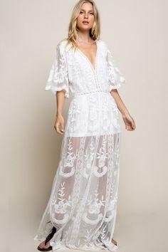 Mini Dress Formal, White Mini Dress, White Lace, Dress For Girl Child, Girls Easter Dresses, White Sundress, Lace Maxi, Modest Dresses, Nice Dresses