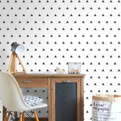 Adesivo de parede Hipster Triangles