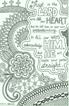 Word Of Wisdom Coloring Pages