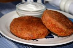 Salmon Cakes by Fox in the Kitchen