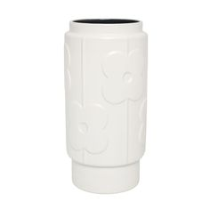 Discover the Orla Kiely Large Abacus Vase - Charcoal at Amara