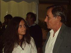 Alessia con Vecchioni
