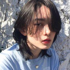 Image may contain: 2 people, closeup and outdoor Asian Short Hair, Short Hair Cuts, Cut My Hair, New Hair, Medium Hair Styles, Curly Hair Styles, Mullet Hairstyle, Shot Hair Styles, Hair Reference