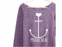 Sweater Anker Pullover Hipster Vintage Sailor Herz
