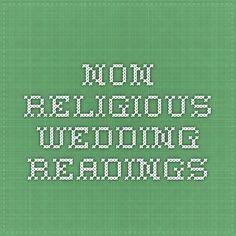 non religious wedding readings