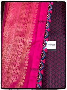Saree Kuchu New Designs, Saree Tassels Designs, Saree Blouse Neck Designs, Brocade Saree, Kali Mata, Hand Work Blouse Design, Saree Collection, Krishna, Website