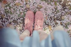 in the sea of cherry blossoms by tinytoadstool from dadaya, via Flickr