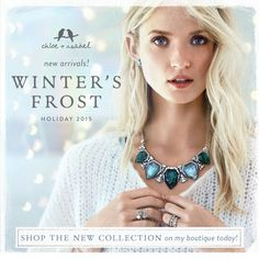 NEW HOLIDAY COLLECTION!!! #yay #new #love #beautiful #jewelry #chloeandisabel #fashion  You can find it at anitabeganovic.chloeandisabel.com