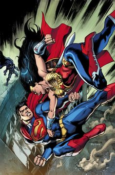Superman vs Wonder Woman by Yildiray Cinar