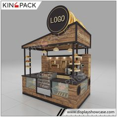 Source Solid wood coffee kiosk with bar counter coffee shop counter design for sale on m.alibaba.com