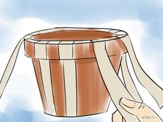 How to Paint Clay Pots. If you have lots of plants, either indoors and outdoors, you may get tired of the basic red of clay pots. Painting clay pots can take a few days due to drying time, but it's easy and worth it for the added. Flower Pot Art, Clay Flower Pots, Flower Pot Crafts, Flower Pot People, Clay Pot People, Clay Pot Projects, Clay Pot Crafts, Shell Crafts, Diy Clay